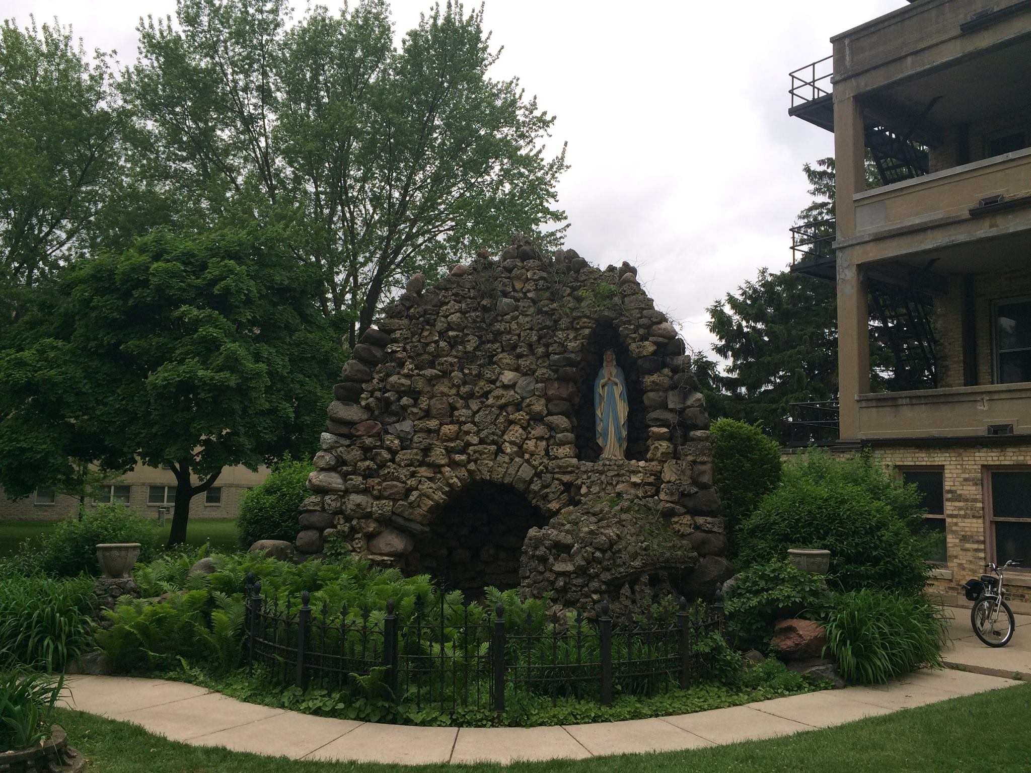 Milwaukee writers will remember the grotto at the Marian Center